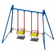 Качали детские металлические B42 для игровой площадки