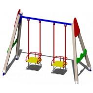 Качали детские деревянные B44 для игровой площадки