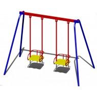 Качали детские металлические B50 для игровой площадки