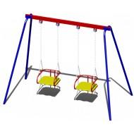 Качали детские металлические B51 для игровой площадки