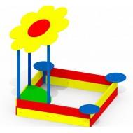 Песочница Ромашка P33 для детской игровой площадки