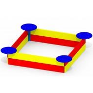 Песочница с сиденьями малая P37 для детской игровой площадки
