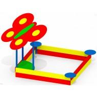 Детская песочница большая Бабочка P48 для детской игровой площадки
