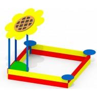 Песочница большая Подсолнух P50 для детской игровой площадки