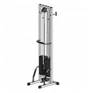 Многофункциональный тренажер для спины Блочная рамка одинарная на 40 кг, крепление к стене/полу (TB001-40)