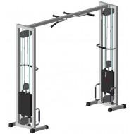 Многофункциональный тренажер для спины Блочная рамка двойная на 105 кг (TB103-105)
