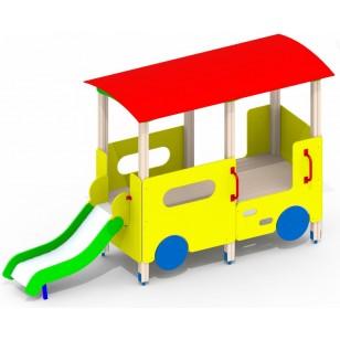 Горка для детей Трамвайчик A52