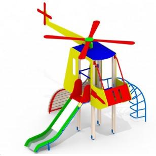 Горка для детей Вертолет Mи8