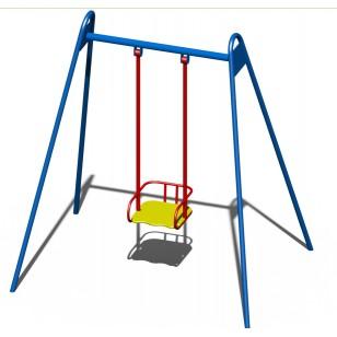 Качали детские металлические B41 для игровой площадки