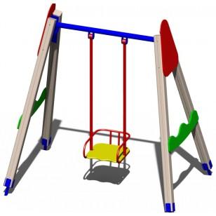 Качали детские деревянные B43 для игровой площадки