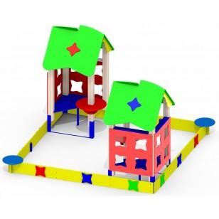 Песочный дворик «Мечта» Р29 для детской игровой площадки