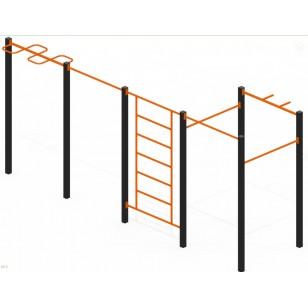 Спортивный комплекс Воркаут W03 для воркаут площадки